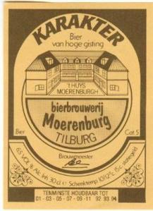 Bierbrouwerij Moerenburg Tilburg